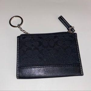 Black Coach ID/Card Holder